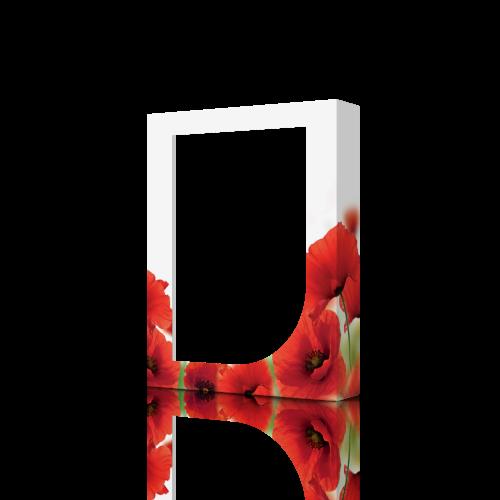 Коробка картонная для полотенец Poppy 30К-03001