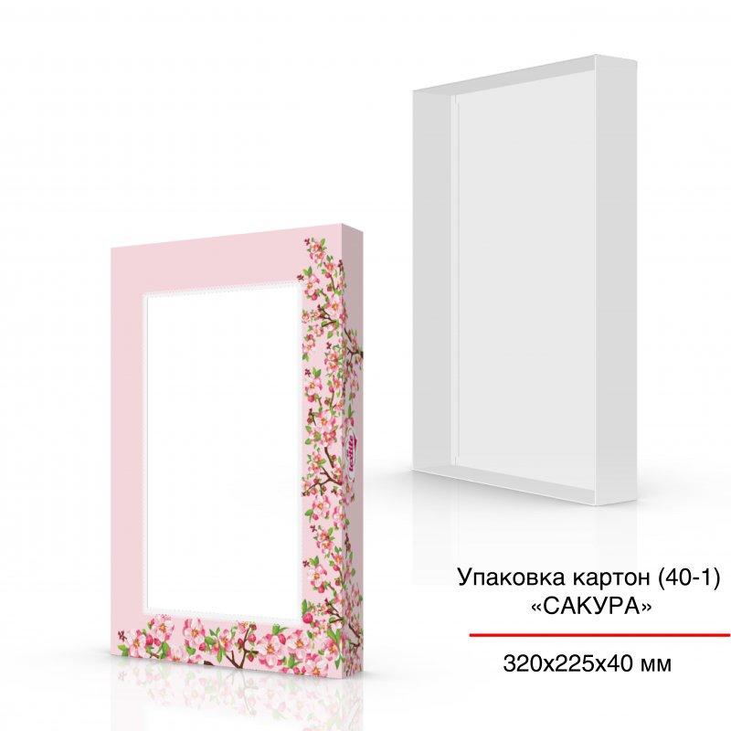 Купить Упаковка для сладостей картон 320х225х40 мм, под заказ