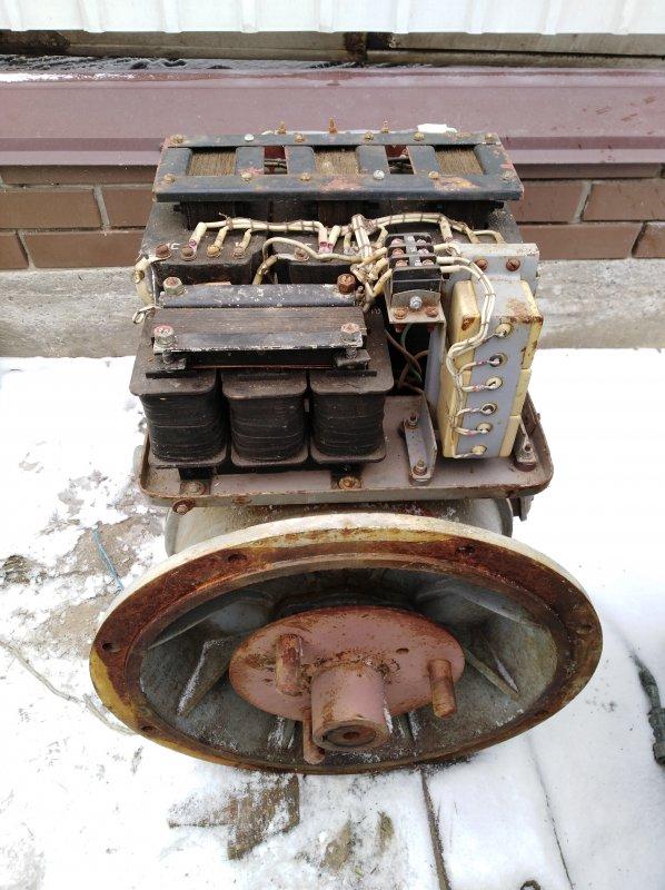 Купить  Генератор 12 кВт, 400 вольт, 50 Гц, ЕСС 62 4У2, с хранения.