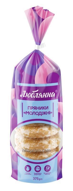 """Пряники """"Молодежные"""" упаковка 0,375 2,5 5 кг"""