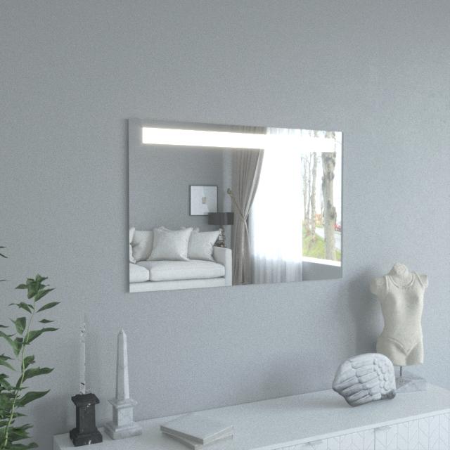 "Купить Зеркало с LED подсветкой ""Lake"" класса Crystal 700*1060мм"