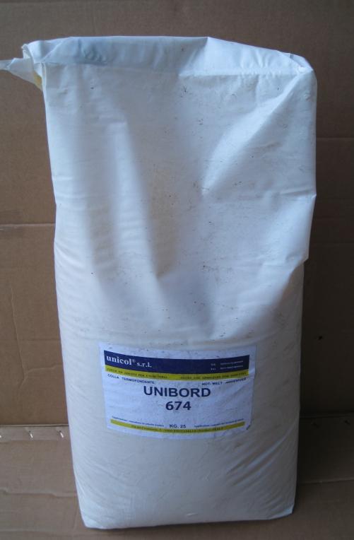 Buy Glue fusion for an edge high-temperature korichnevyyunibord 674