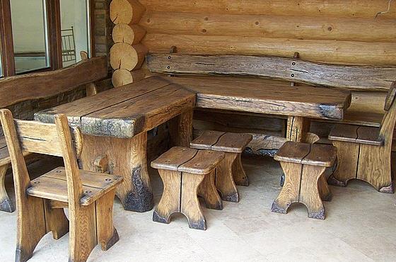 Столы под старину из дерева цены
