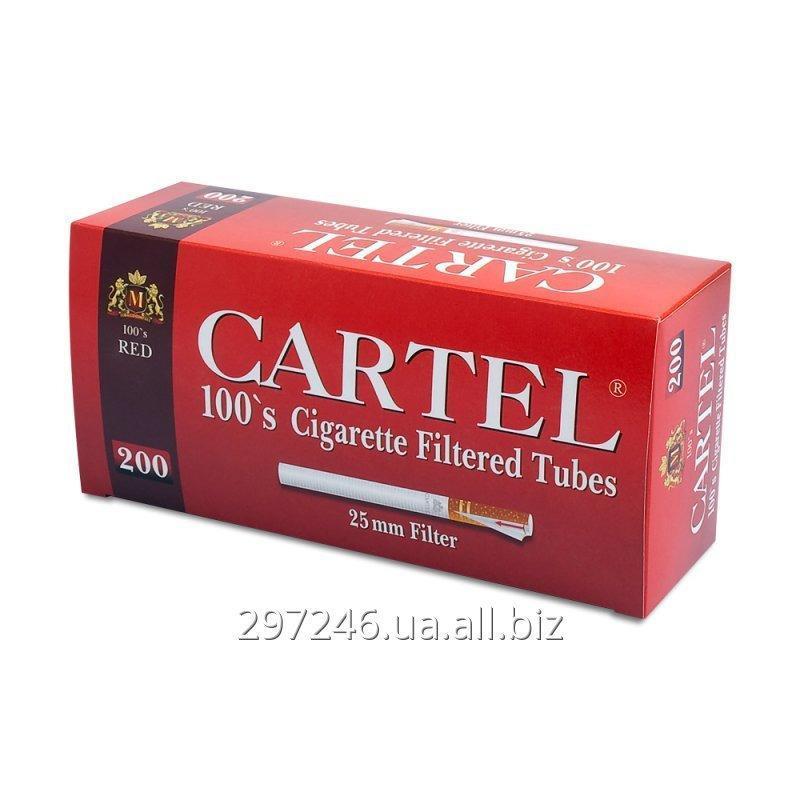 Купить Гильзы для набивки сигарет Cartel RED