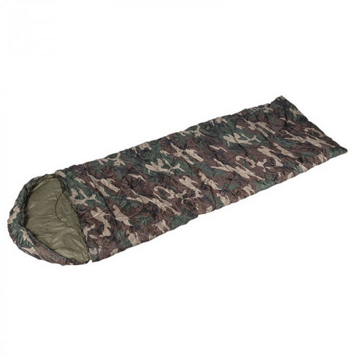 Купить Спальный мешок одеяло Mil-Tec woodland