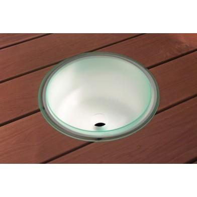 Освещающая шайка с водосливным отверстием, светодиодная подсветка Cariitti