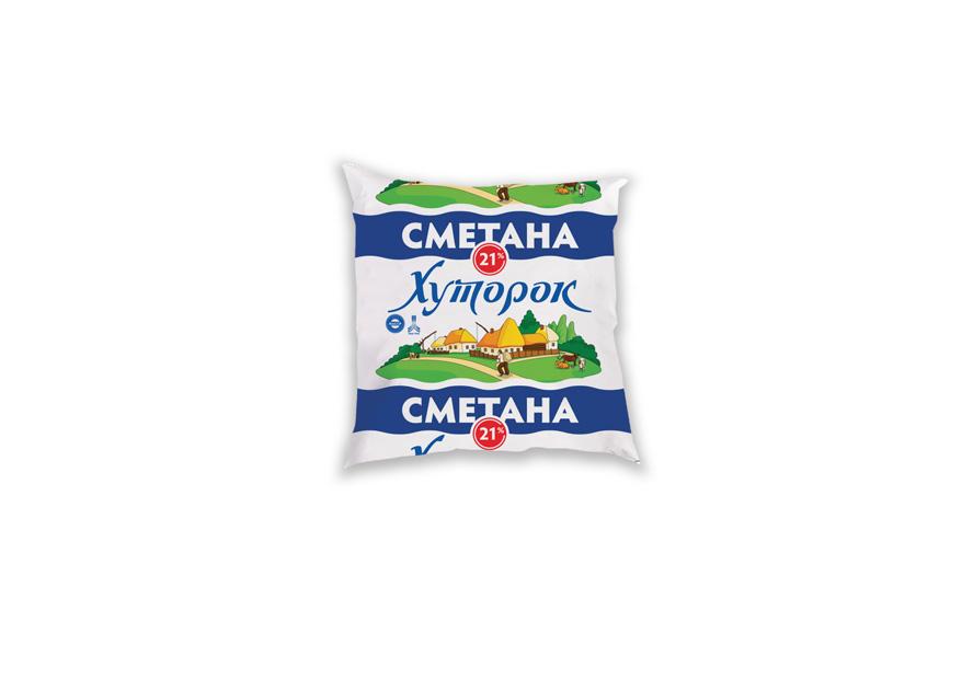 """Купить Сметана в Украине, сметана """"Хуторок"""""""