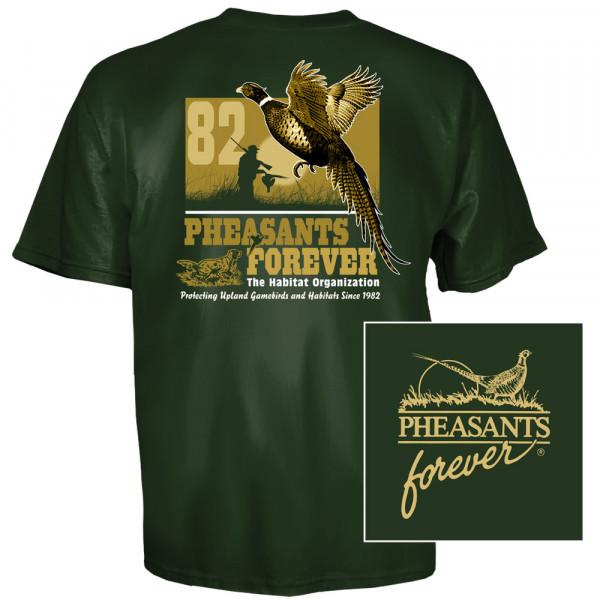 Футболка для охоты и рыбалки Pheasants Forever Pheasant Flush T-Shirt