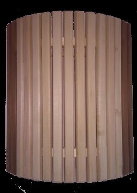 Купить Ограждение светильника угловое с термовставкой для бани и сауны