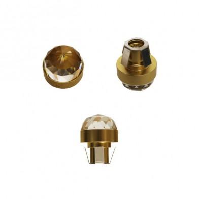 Хрустальный светильник Cariitti CR-20 Led, золото IP67