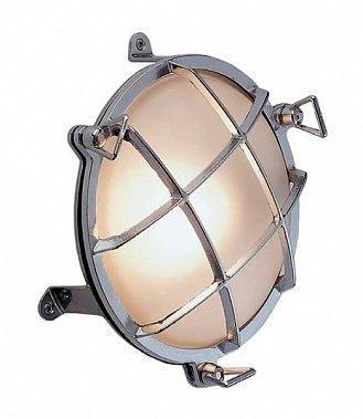 Влагозащищенный светильник для хамама Foresti Ø190/95 хром