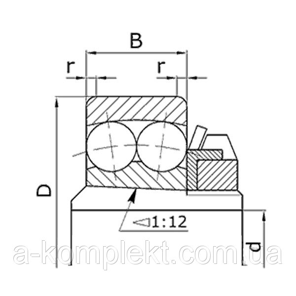 Buy 11314 drum shaft bearing