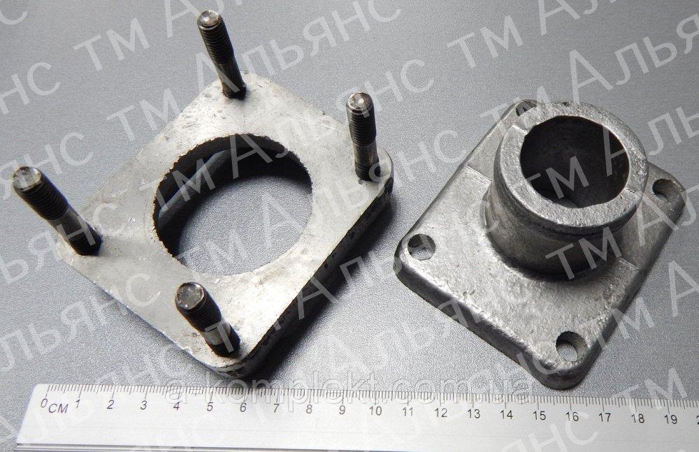 Патрубок 150У.13.017 радиатора системы охлаждения Т-150