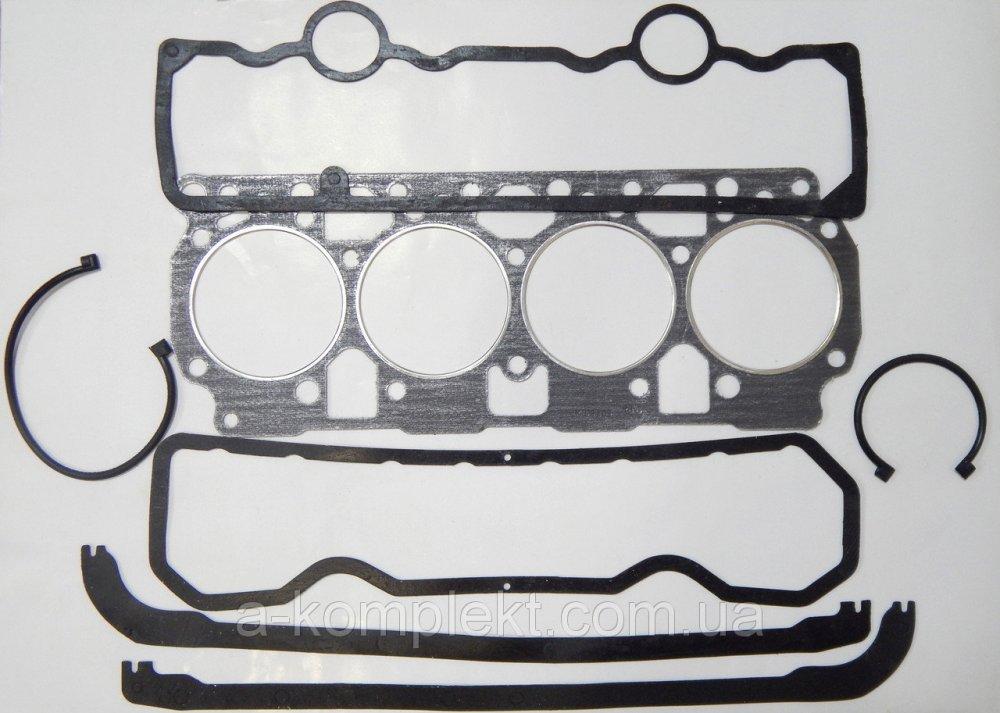 Набор прокладок двигателя Д-240 (МТЗ) (ГБЦ+клапан+поддон)