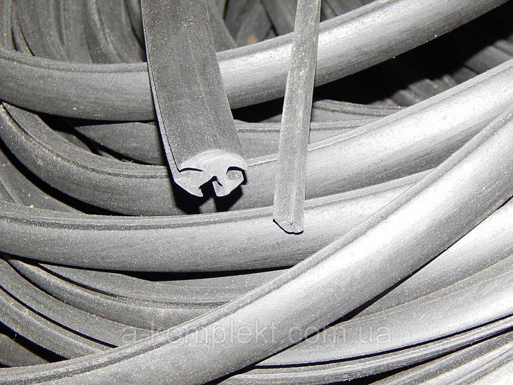Профиль резиновый (уплотнитель) НТ-9 (с замком)