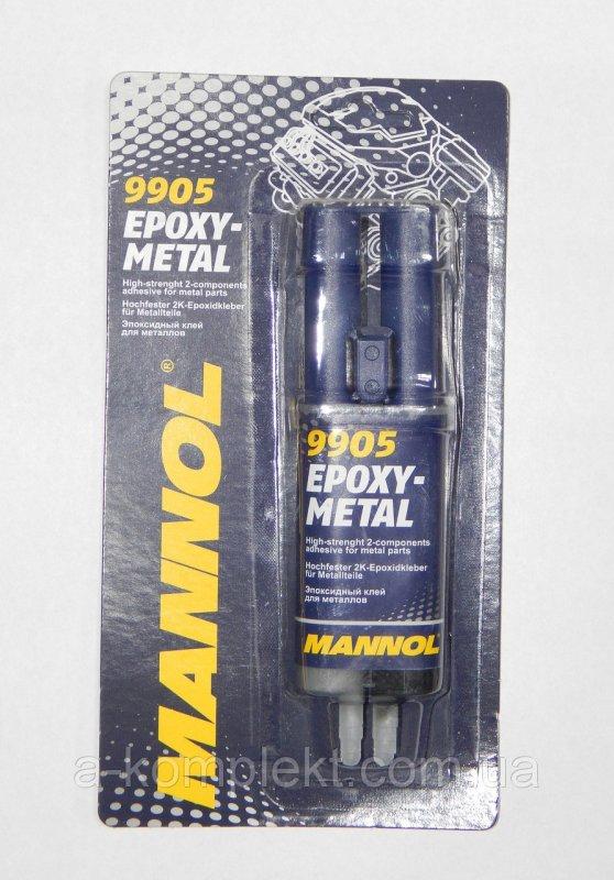 Эпоксидный клей для металлов MANNOL
