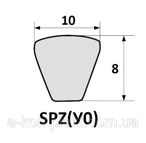 Ремень I-8.5x8-933 (А-01, А-41, Енисей) вентиляторный SPZ-933
