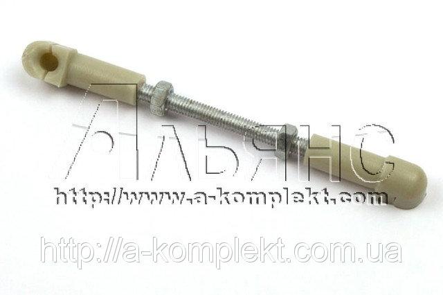 Наконечник с тягой газа карбюратора ПД-10, П-350 (арт.15091)