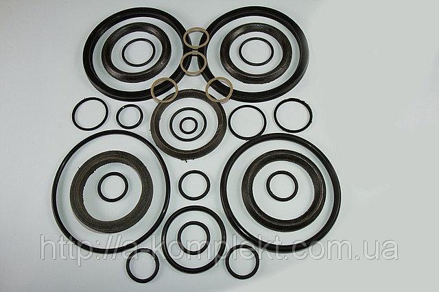 Ремкомплект гидроцилиндра ЦС-160 (Т-330/Т-500) подьема отвала (резиноткань) (арт.355)