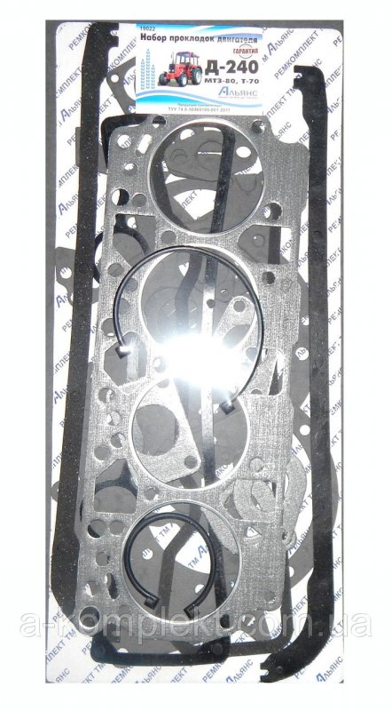 Набор прокладок двигателя Д-240 трактора МТЗ