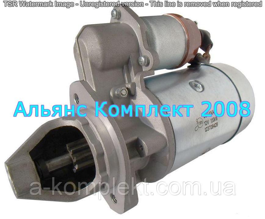 Стартер ГАЗ-53, -66, ПАЗ-672 (12В 1,5 кВт)