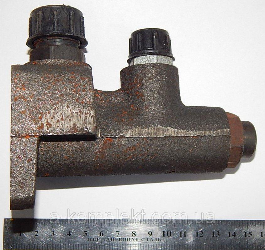 Клапан делителя потока со штуцерами Т-40