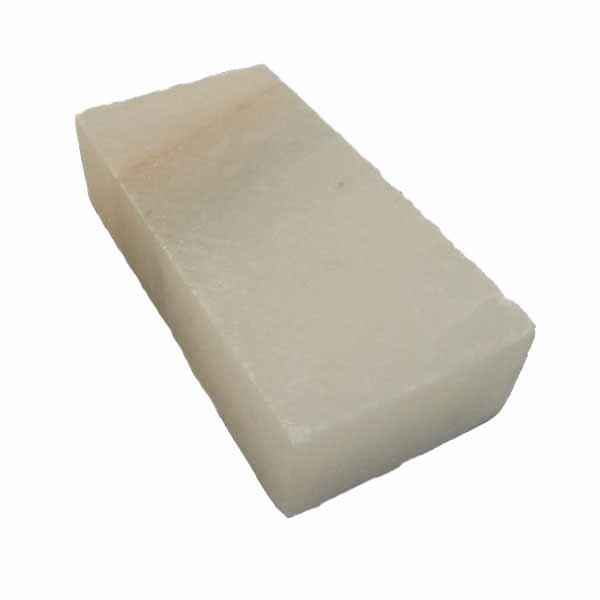 Соляной камень гималайский, белый 20x10x5 см.