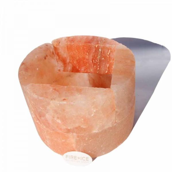 Соляной камень гималайский, округлый ø 28 x 10 см.