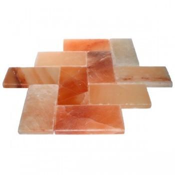 Плитка из гималайского соляного камня 20x10x2 см.