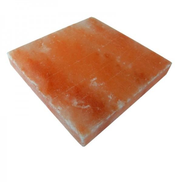 Плитка из гималайского соляного камня, 20x20x2,5 см.