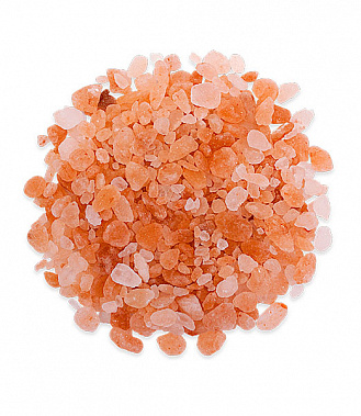 Гималайская розовая соль Крошка 2-5 мм 1 кг для бани и сауны
