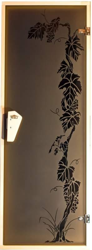 Двери для сауны Виноград