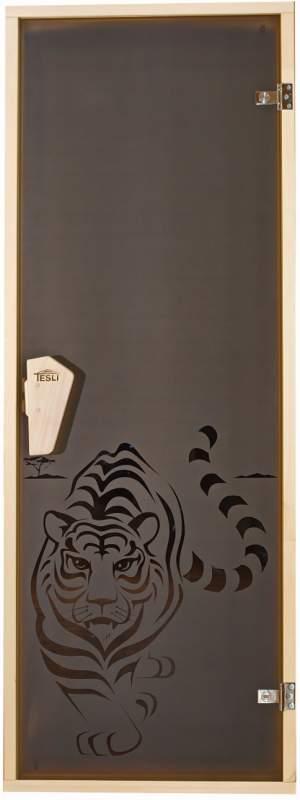 Двери для сауны Тигр
