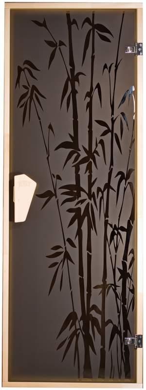 Дверь для сауны Бамбуковый лес
