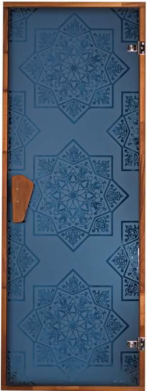 Дверь для сауны Сезам Blue