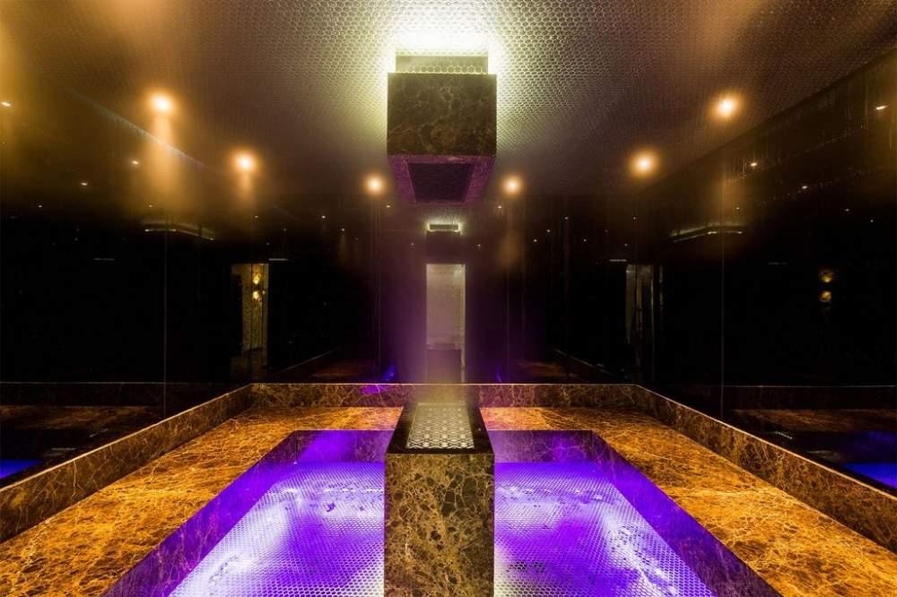 Стеклянные панели для сауны, турецкой бани и спа