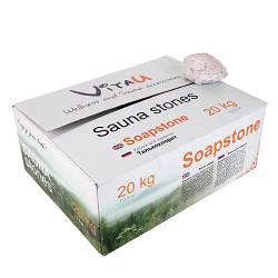 Камень Soapstone Талькохлорит 20 кг, коробка