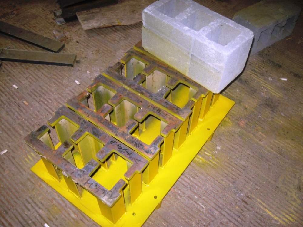 Купить Форма Блок строительный