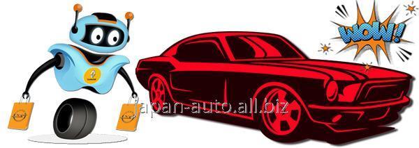 Купить Стойка стабилизатора задняя левая 54668-CA010