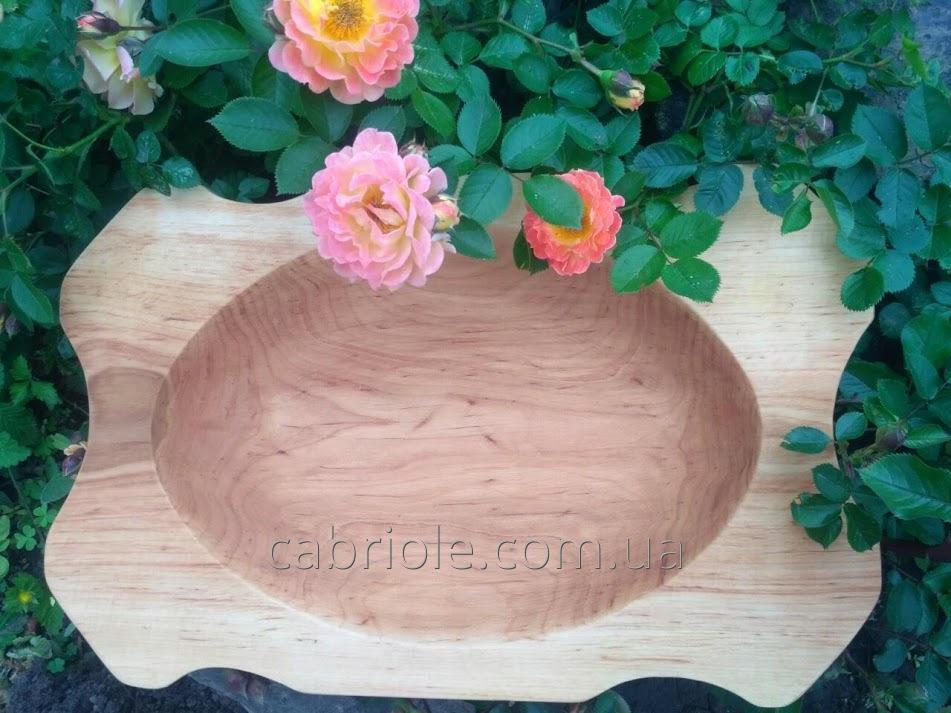 Посуда из дерева ручной работы.