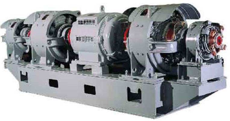 Купить МП-542-1/2М-У2(Запчасти на ЭКГ-5) Катушки главных и дополнительных полюсов электродвигателя