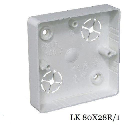 Коробка приборная KOPOS LK 80X28R/1