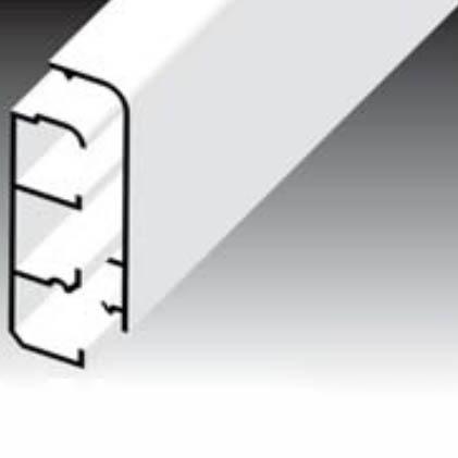 Короб плинтусный LP 80x25 Копос