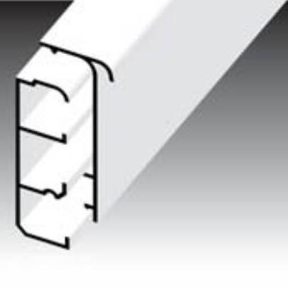 Короб плинтусный LPК 80x25 Копос