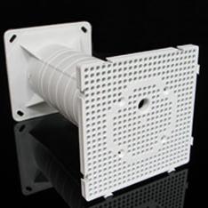 Коробка удлиненная с монтажной панелью для установки внешнего электрооборудования, используется при термоизоляции зданий, MDZ KB Копос