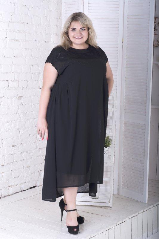 Платье вечернее - двойка из шифона, Олеся 796О