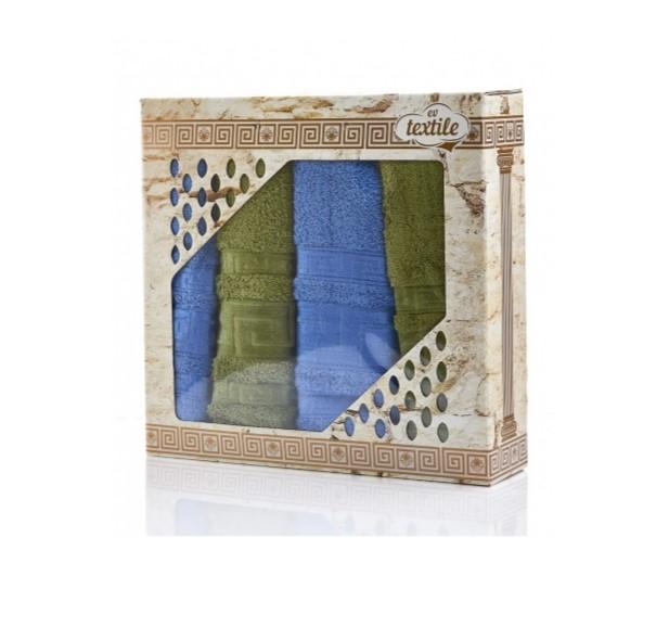 Подарочный набор полотенец Семейный 4 шт.