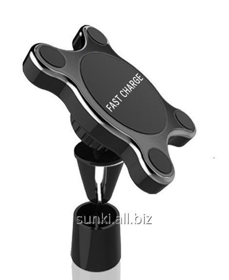 Купить Беспроводное зарядное устройство LINUO GO-WS30 автомобильное крепление с беспроводной зарядкой QI (SUN0542)