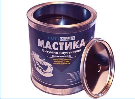 Купить Мастика Butyplast автомобильная 3 кг