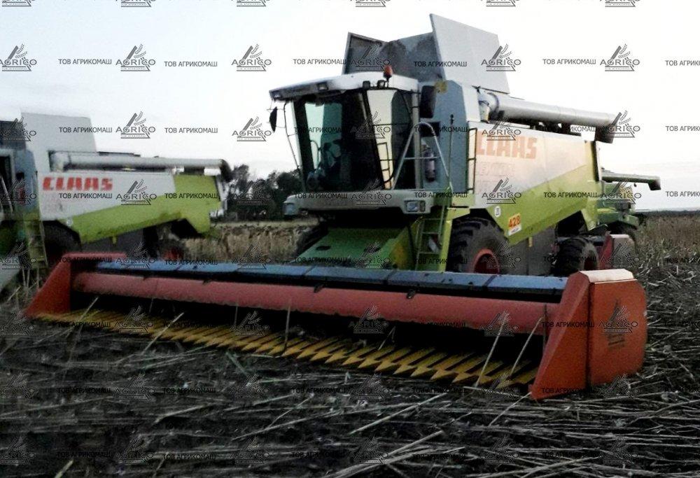 Жатка ЖНС для подсолнечника, подсолнуха на Джон Дир, Клаас, Кейс